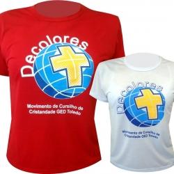 Camiseta em P.V. Antipilling